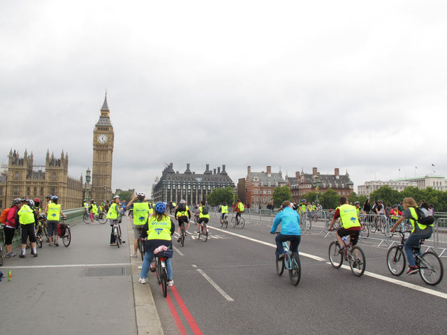 Skyride on Westminster Bridge