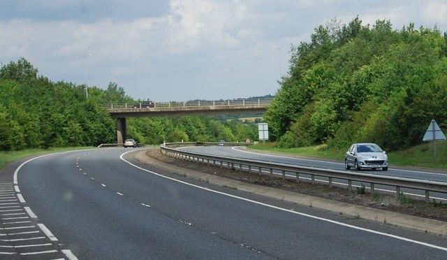 B1108 bridge, A47