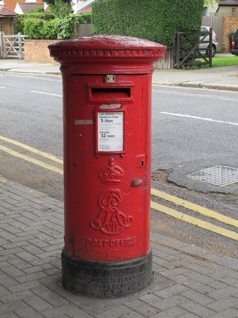 Edward VII postbox, Chatsworth Road / Lydford Road, NW2