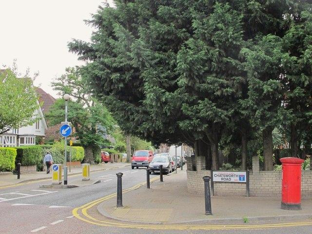 Lydford Road / Chatsworth Road, NW2