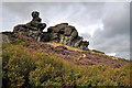 SK0161 : Ramshaw Rocks - Blackshaw Moor by Mick Lobb