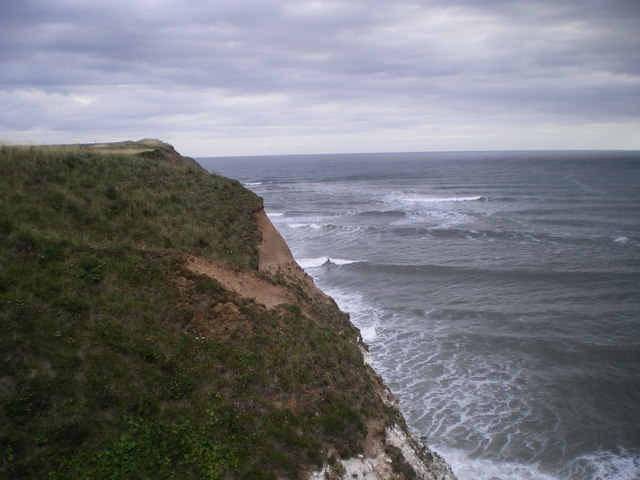 Cliff edge near Old Fall