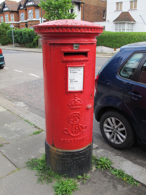 Edward VII postbox, Chatsworth Road / Coverdale Road, NW2