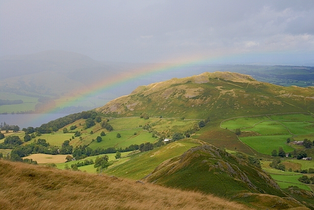 Rainbow over Hallin Fell