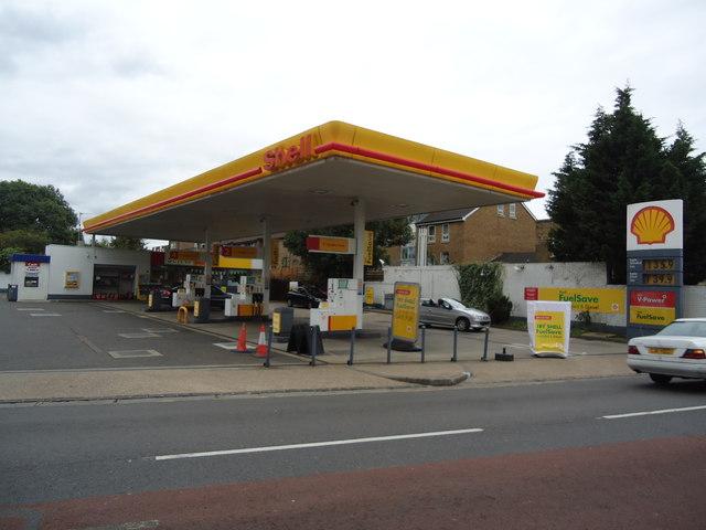 Petrol station, Hanwell