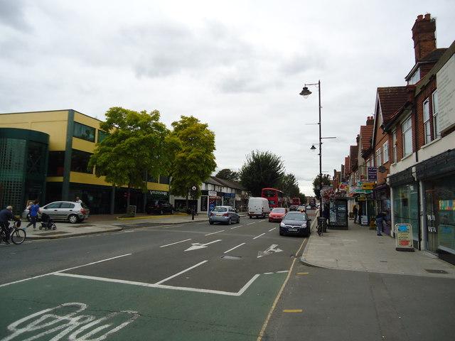 Uxbridge Road, Hanwell