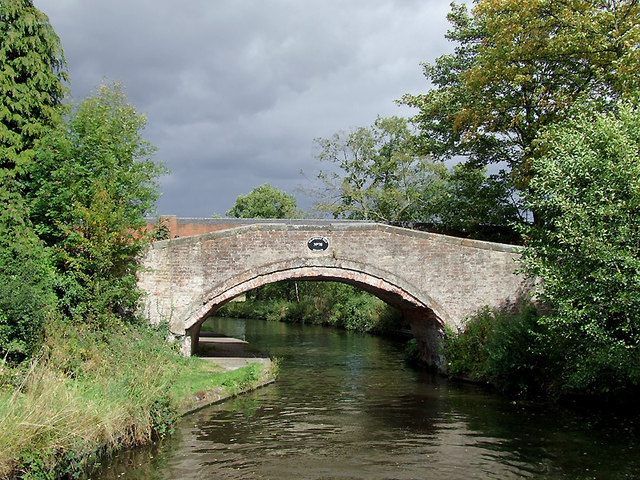 Gravelly Way Bridge near Four Ashes, Staffordshire
