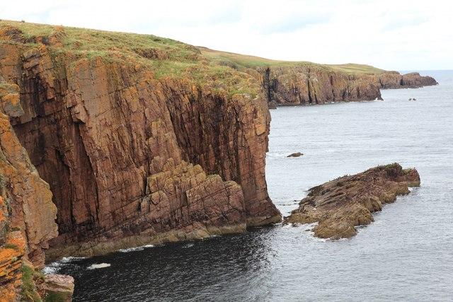 Cliffs south of Sarclet