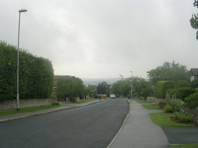West End Rise - viewed from West End Lane