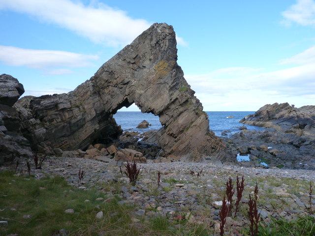Rocks at Loch Craig