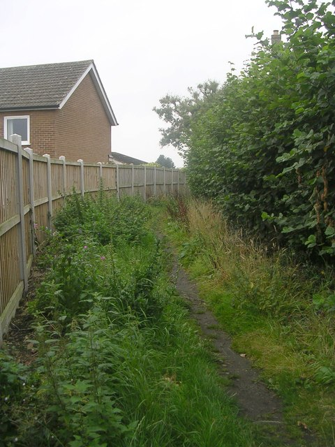 Footpath - West End Grove