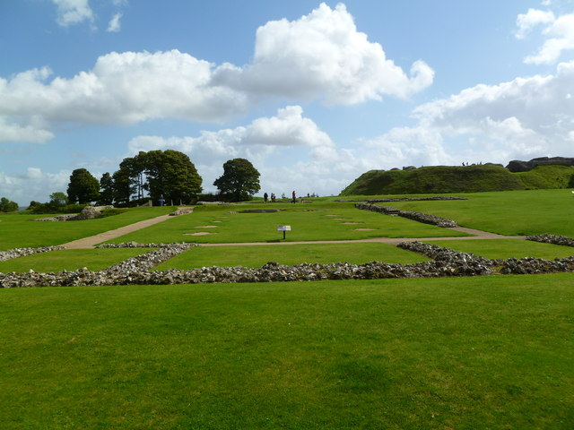 Old Sarum, cathedral remains