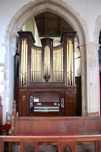 Organ in Icklesham Church