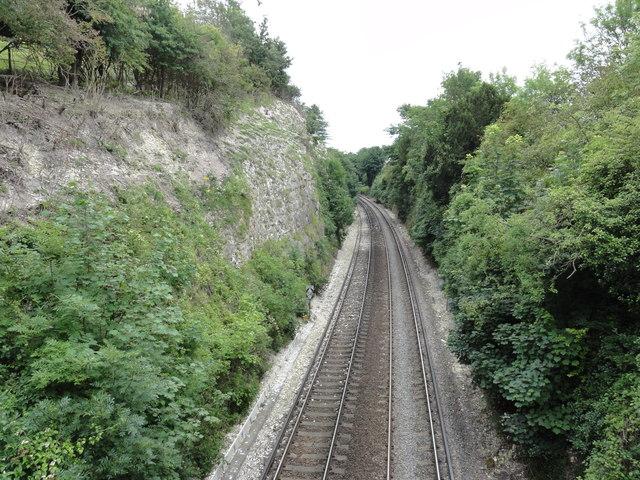 Lydden, Chatham Main Railway Line