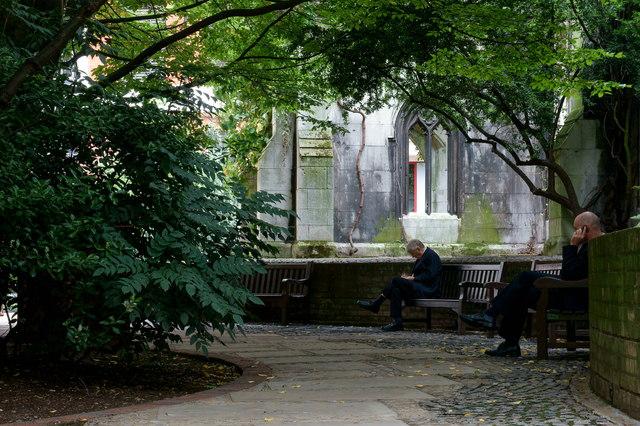 St.Dunstan in the East Church Garden, London