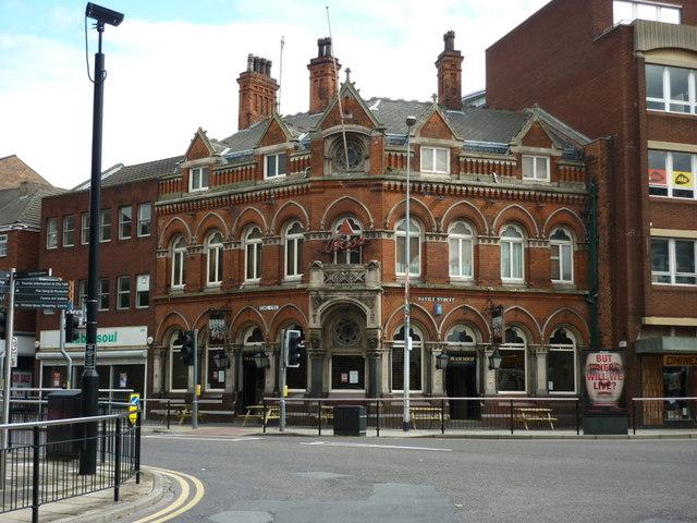 The Dram Shop on George Street, Hull