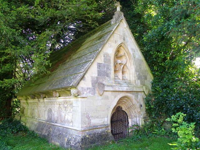 The Ire Monger Family Mausoleum