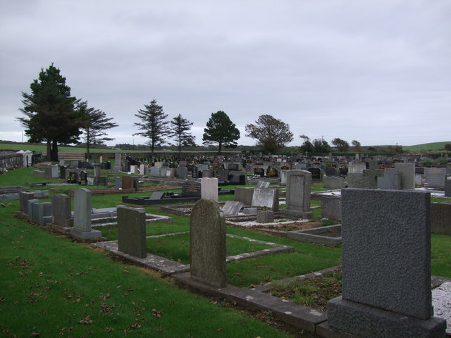 Malew Parish Church graveyard