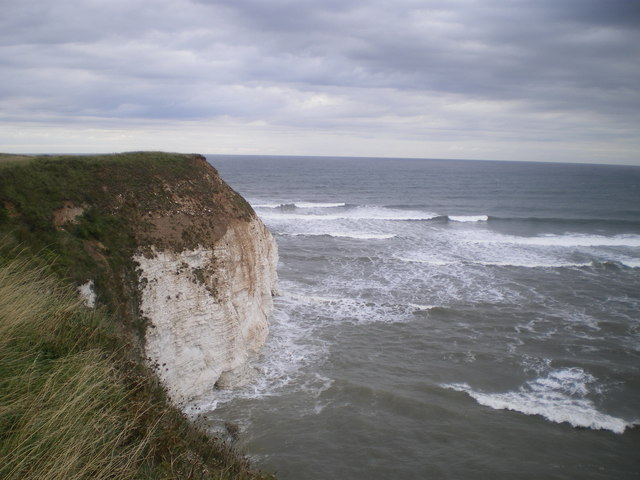 Cliff edge south of High Stacks