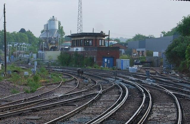 Signal box, Horsham
