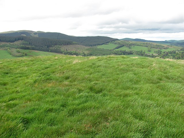 Summit, Drochil Hill