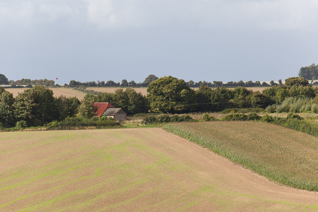 Hydes Barn and associated rough ground