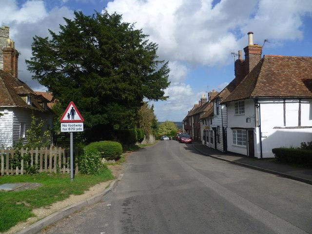 The Street, Egerton