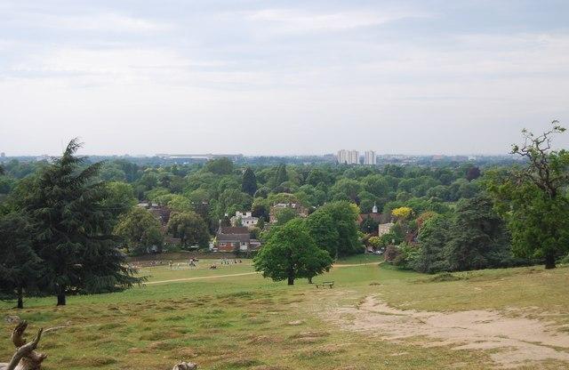 View out, Richmond Park
