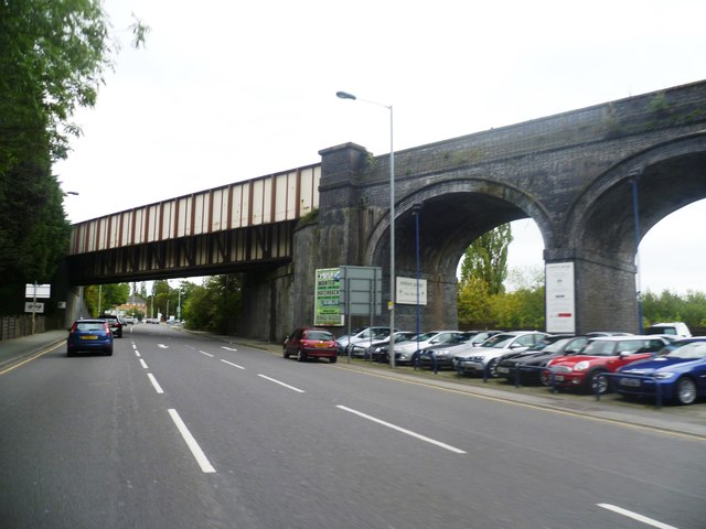 Bridge over The A6 - Hazel Grove