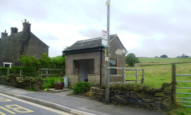 Bus Shelter - Hayfield Road