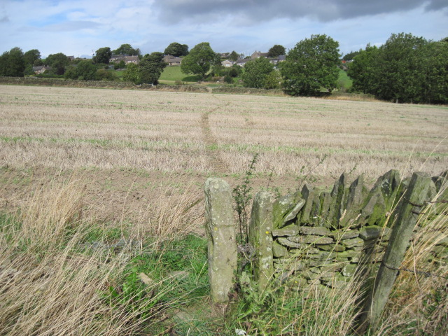 Footpath towards Wadshelf