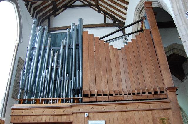 Organ Pipes, Rye Church