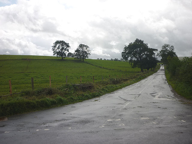 The road to Crosby Garrett west of Soulby