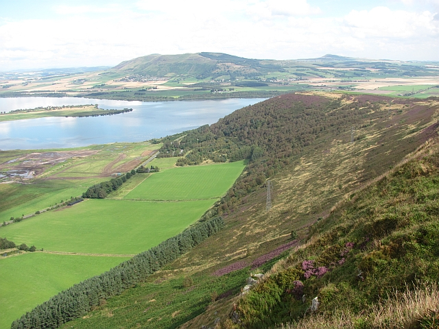 North side of Benarty Hill