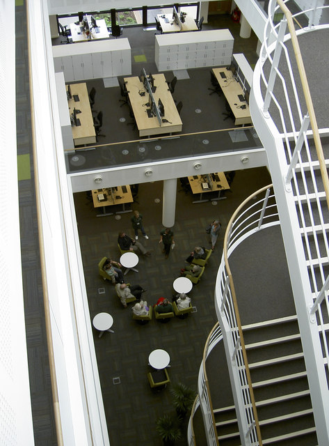 Atrium, Horizon House