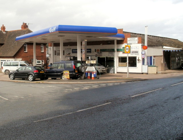 Glasbury Service Station and Post Office