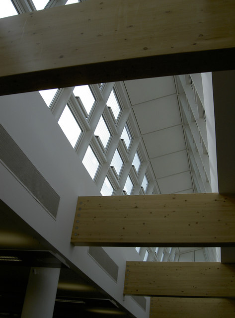 Roof interior of Horizon House