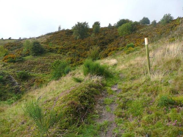 Path up Hill House Brink, Mytholmroyd