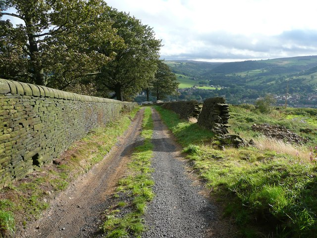 Driveway to Birchen Lee Carr, Mytholmroyd