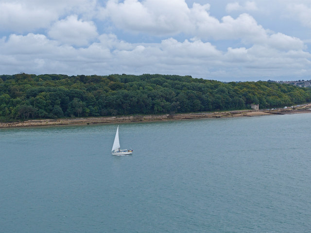Old Castle Point, Cowes, Isle of Wight