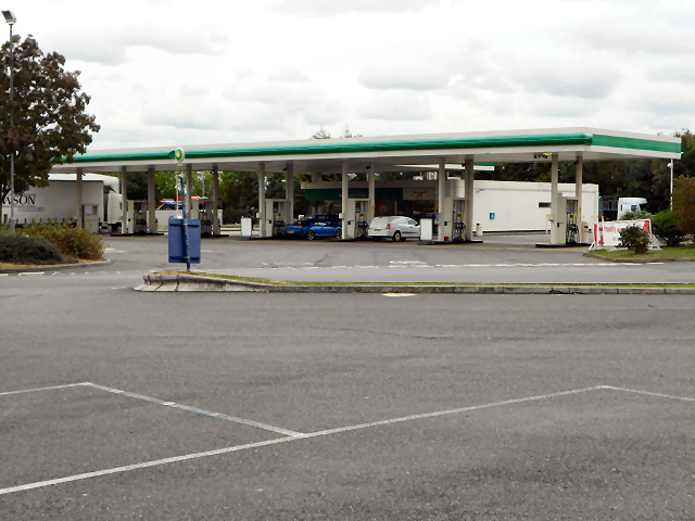 Fuel Forecourt , Strensham Services (Southbound)