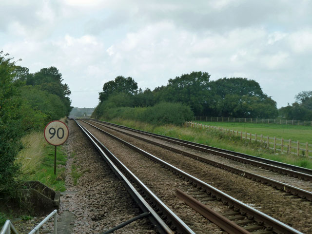 Railway towards Lewes