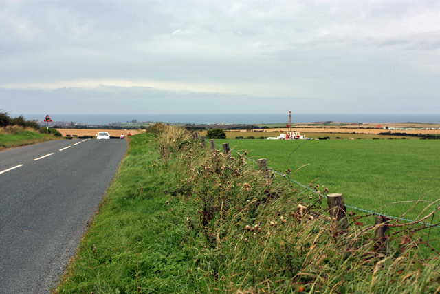 Drilling for Potash near Hawsker