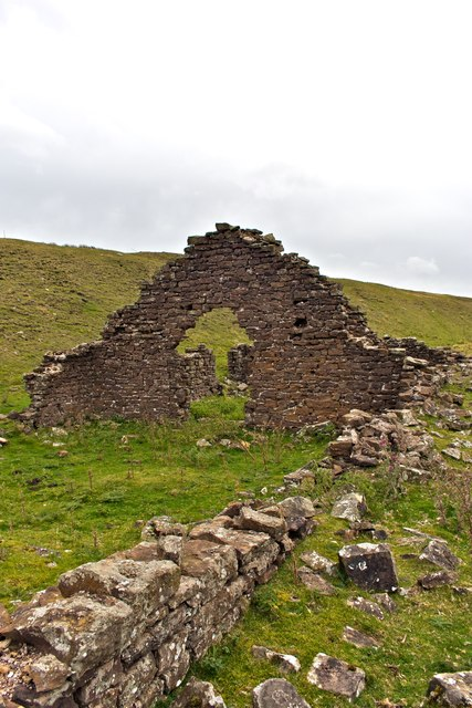Remains of Workshop, Rosedale East Mines