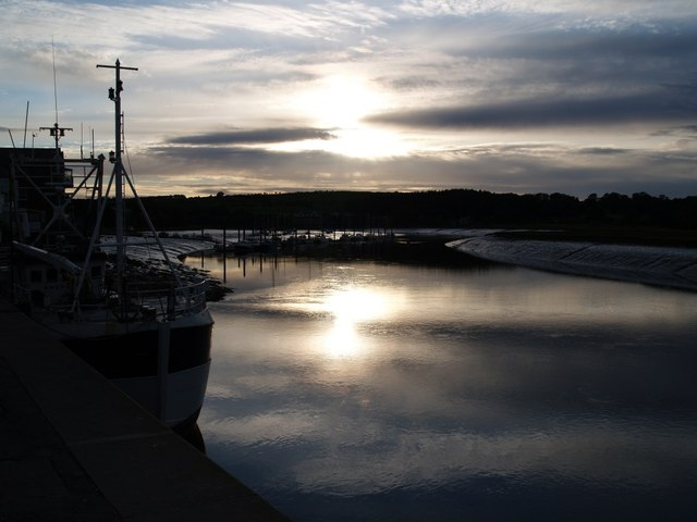 Sunset at Kirkcudbright Harbour