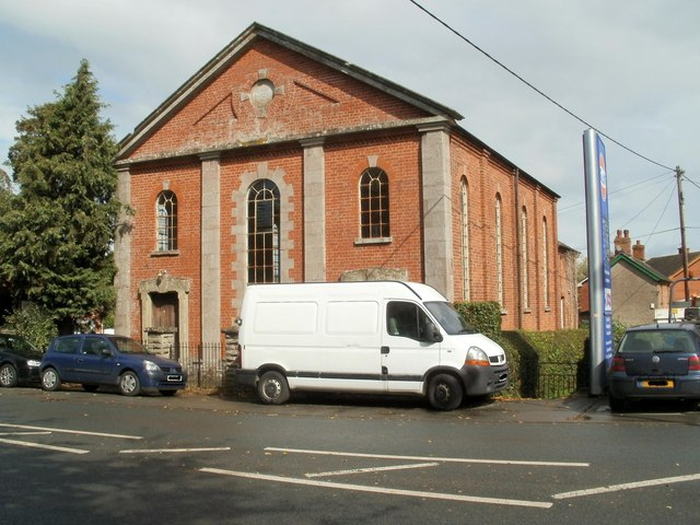 Grade II listed Treble Hill chapel, Glasbury