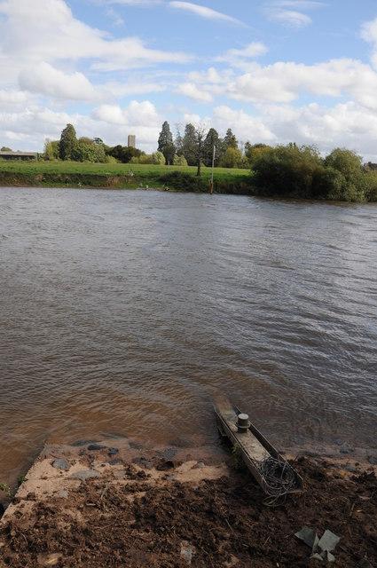 River Severn opposite Deerhurst