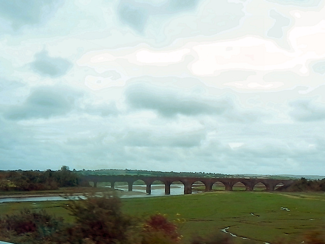 Rail Viaduct over River Loughor