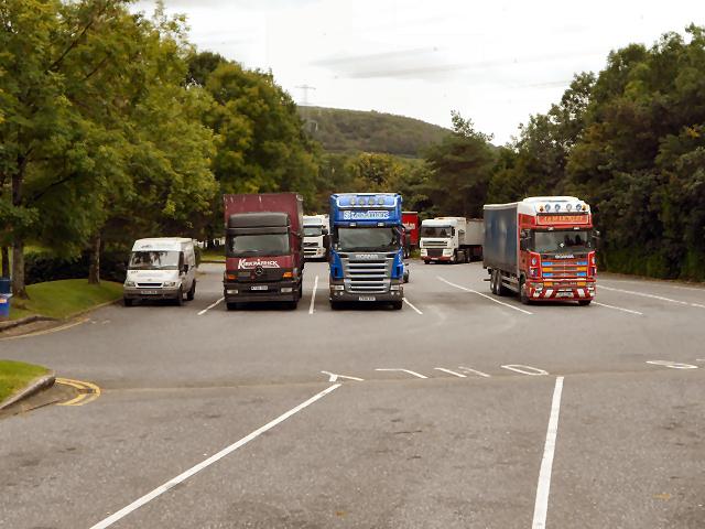 Lorry Park, Pont Abraham Services