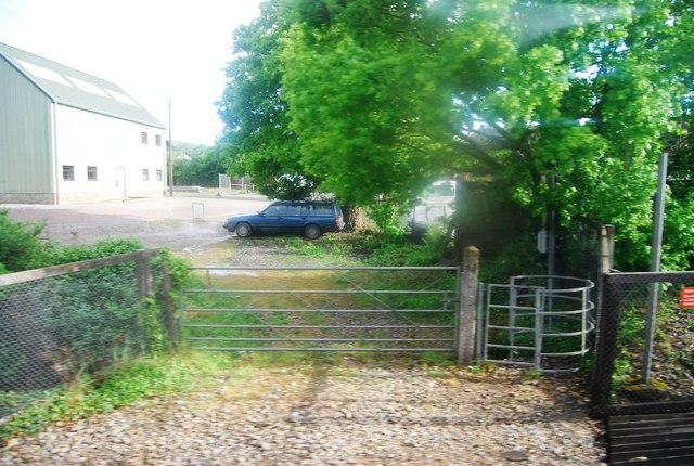 Kissing gate near Rosier Farm